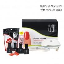 Gel polish starter kit with 6 W LED lamp