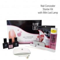 Nail Concealer stardikomplekt 6 W LED lambiga