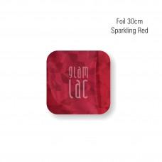 Foil Sparkling Red 30 cm