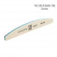 GlamLac file 180 & buffer 180 combo