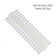 Nail Tip Colour Chart Palette (36 Tips)