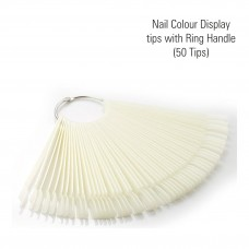 50pcs Nail Colour Display tips with Ring Handle