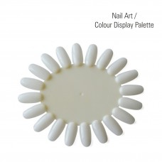 Nail Tip Colour Chart Wheel (20 Tips)